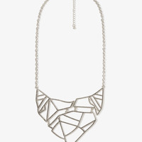 Abstract Cutout Necklace