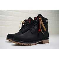 Champion X Timberland Premium 6 Inch Leather Boots A1ucr | Best Deal Online