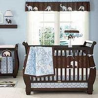 Blue Elephant Bedding by Carters - Elephant Baby Crib Bedding - c202bed4