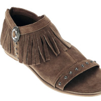 Coconuts by Matisse Haro Tan Fringed Sandals