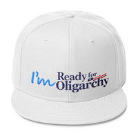 I'm ready for Oligarchy Wool Blend Snapback