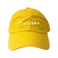 Adult Finesse Embroidered Dad Hat