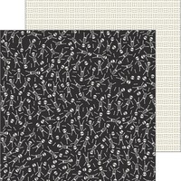 """Spooky Boo Double-Sided Cardstock 12""""X12""""-Bad To The Bone"""