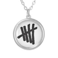 5 Seconds of Summer Tally Necklace