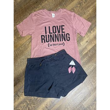 Running to The Lord Graphic Tee (S-2XL)