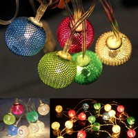 10/20LEDs Fairy String Lights Christmas Wedding Party Decor Outdoor Lamp