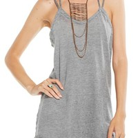 Chaser Double Twist Camisole | Nordstrom