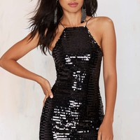 Nasty Gal Vegas Baby Sequin Dress