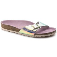 DCCK1 Birkenstock Madrid Leather Ombre Pearl Silver Orchid 1003847 Sandals