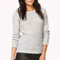 LOVE 21 Essential Waffle Knit Sweater