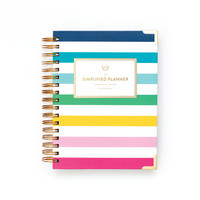 2017 Daily Simplified Planner by Emily Ley - Happy Stripe