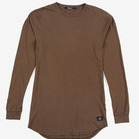 L/S Tail Tee (Olive)