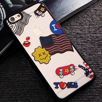 Limited Edition USA Flag iPhone 5s 6 6s Plus Case Cover Gift-116