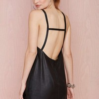 Nasty Gal Leather - The Sioux Dress