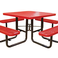 Planet Playgrounds Square Picnic Table