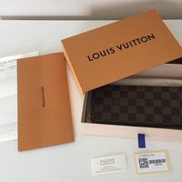 BRAND NEW LOUIS VUITTON CLEMENCE LONG WALLET MONOGRAM WITH RECEIPT
