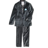 Appaman Boys' Vintage Black Velvet Mod Suit