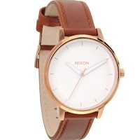 Nixon The Kensington Leather Watch - Mens Watches