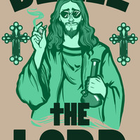 Blaze the Lord Art Print by LookHUMAN | Society6