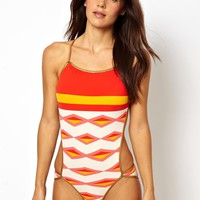 Marc By Marc Jacobs Bound Wrap Around Cut Out Swimsuit