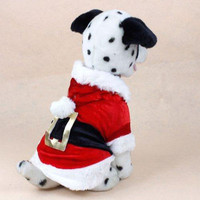 2016 New Santa Dog Costume Christmas Pet Clothes Winter Hoodie Coat Clothes for Dog Pet clothing Chihuahua Yorkshire