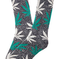 The Plantlife Socks in Navy Heather