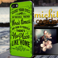 the wizard of OZ quotes - iPhone 4/4s/5/5s/5c Case - Samsung Galaxy S3/S4 - Blackberry z10 Case - Black or White