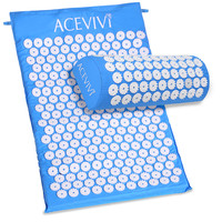 Massager cushion Acupressure Mat Relieve Stress Pain Acupuncture Spike Yoga Mat with Pillow