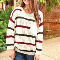 The Right Moment Sweater