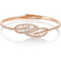 Anita Ko - Leaf 18-karat rose gold diamond bracelet