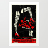 Rocky Horror Picture Show Art Print by Mark Welser