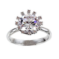 Diamond Crown Ring