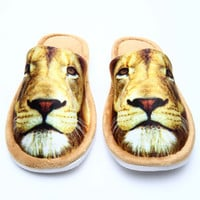 KING OF THE JUNGLE SLIPPERS