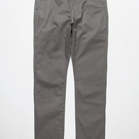 Rvca Week-End Mens Chino Pants Charcoal  In Sizes