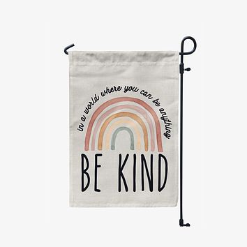Be Kind Garden Flag