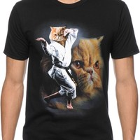 A-Lab Karate Cat T-Shirt