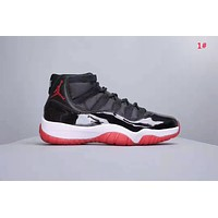 NIKE Air Jordan 11 New fashion couple sports leisure shoes 1