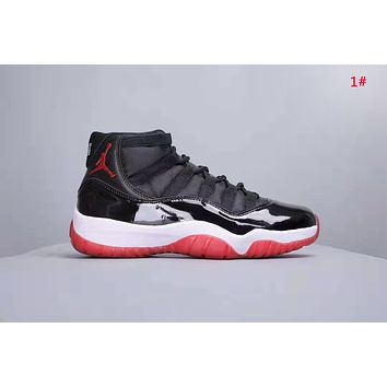 NIKE Air Jordan 11 New fashion couple sports leisure shoes 1#