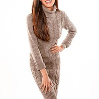 %PC% Cable knit sweater dress from VENUS