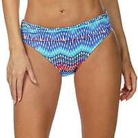 La Blanca Waves of Changed Shirred Band Hipster Bottom - Multi