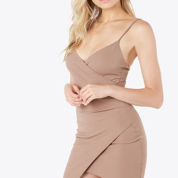 Kylie Wrap Mini Dress