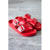 Arizona EVA Birkenstocks | Red | Narrow
