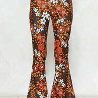 See If I Flare Floral Pants