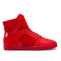 SUPRA Footwear™ | Official Store | SKYTOP LX | RED/RED - RED