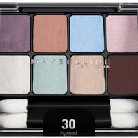 Maybelline New York Expert Wear Eyeshadow 8-Pan, Hushed Tints 30, 0.22 Ounce
