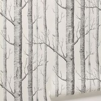 Woods Wallpaper by Anthropologie