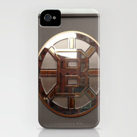 Boston Bruins iPhone Case by Sam McClay | Society6