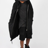Silent by Damir Doma, Cabali Unisex Oversized Hoody, black | GOOD AS GOLD | NZ | GOOD AS GOLD | Online Clothing Store | Mens & Womens Fashion | Streetwear | NZ