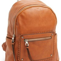 Emperia 'Betsy' Faux Leather Backpack (Juniors)