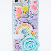 Pony Mix iPhone 5 Case in Blue - Urban Outfitters